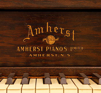 amherst piano.