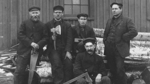 Pictou County carpenters, n.d.