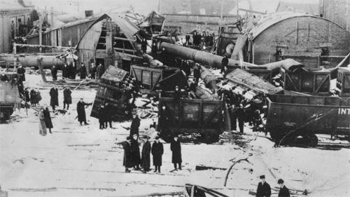 Drummond boiler room explosion