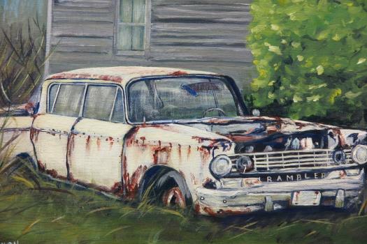Old Rambler by Darlene Dixon.