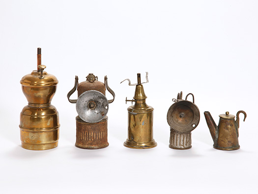 miner's lamps