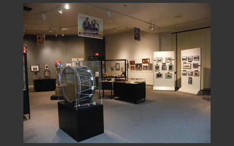 View of exhibit