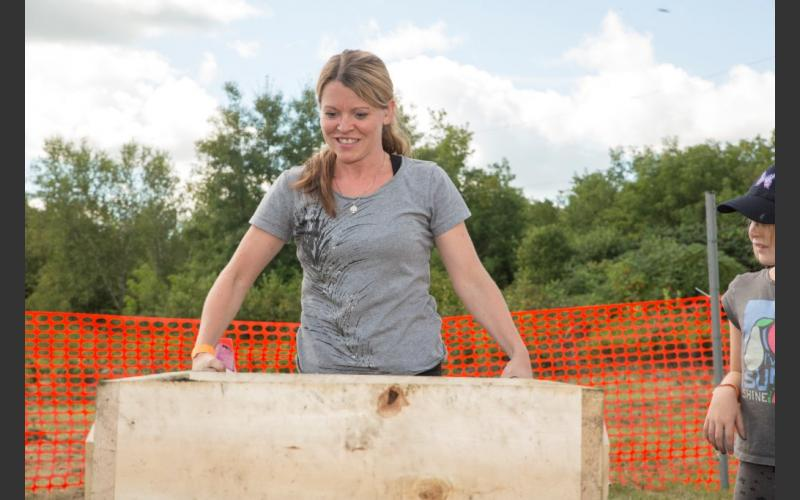 Some participants liked using the sifter as much as digging.
