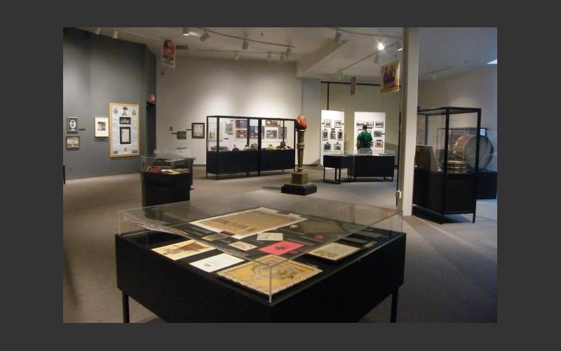 View of exhibit