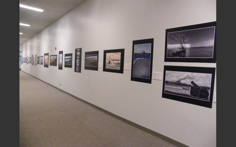 View of the Exhibit