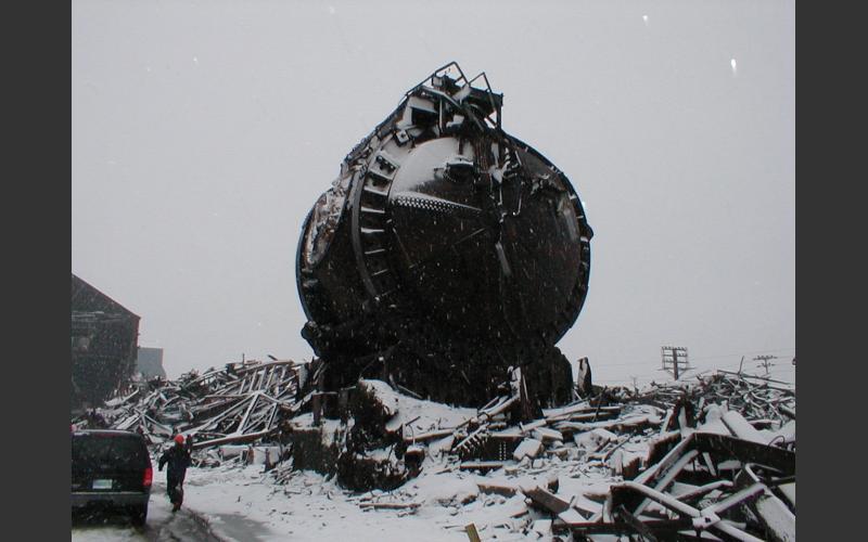 Sydney Steel the Big Sister gone