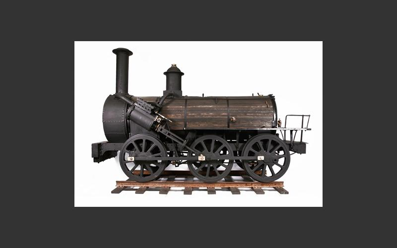 The Locomotive Albion was brought to Stellarton in 1854 to carry coal from the mines to the loading pier. Read more about its puzzling provenance in the Locomotives section