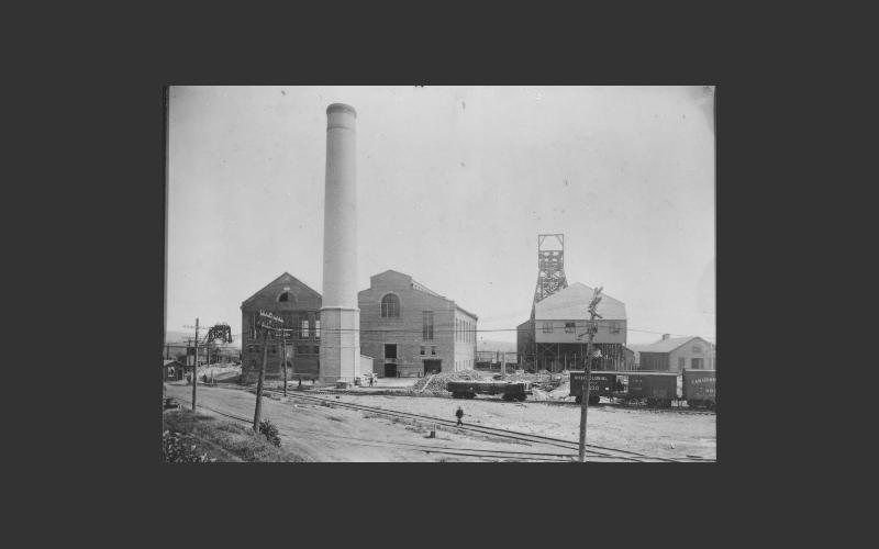 Allan coal mine, Pictou Co. gone