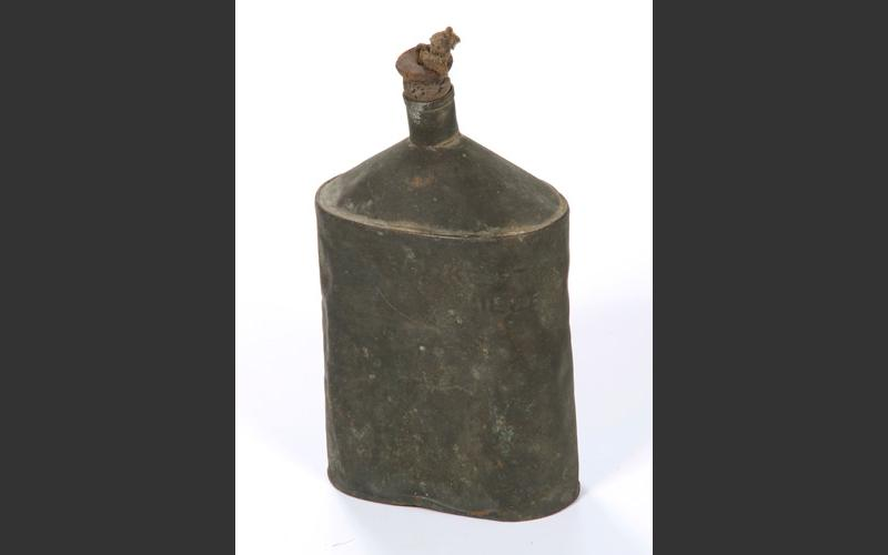 Flask for water or tea. In the often very hot, stuffy confines of a mine it was essential to drink enough water.