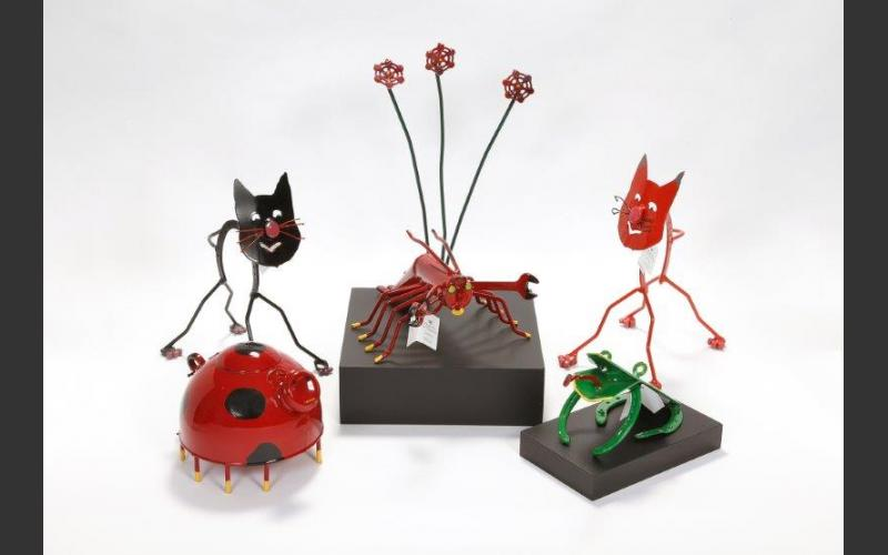 Take home your very own iron creature from P.E.I.'s Malpeque Fine Iron Products