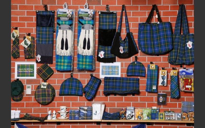 "Tie yourself up in Tartan with our complete line of provincial apparel, giftware and souvenirs...you'll be ""plaid"" you did!"