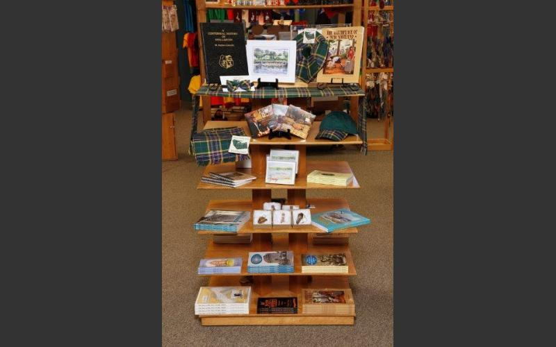 Looking to buy local?  Our display of Pictou County merchandise has something for everyone