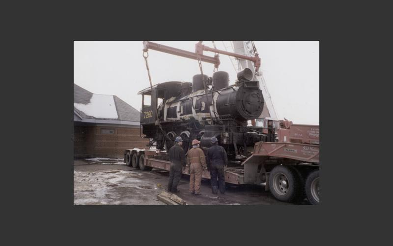 Moving Locomotive 7260