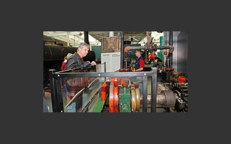 See a demonstration of our 36 hp horizontal steam engine, built at the Pictou Iron Foundry in 1866.