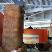 To make way for a new exhibit and to help Sydney's Open Hearth Park display its steel-making past, we are loaning them a 10-ton ingot mould. What is an ingot mould? How did we remove it from the middle of our exhibit gallery and send it on its way to Sydney? See the photo gallery for the answers.