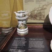 French-made tea warmer ca. 1830s-1840s said to have been used in the Samuel Cunard household.