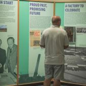 Commemorating the 50th anniversary of the 1966 opening of their factory in Stellarton, the exhibit explains how this Toronto manufacturer came to have a state-of-the-art 7-acre electronics and woodworking operation in Pictou County, Nova Scotia.