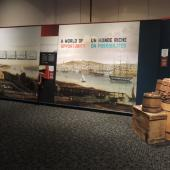 Locating along the Halifax waterfront gave the Cunard business many opportunities.