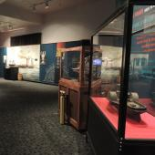 Ship models help to tell the Cunard story.