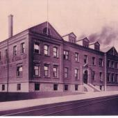 Nova Scotia Steel & Coal's office building at Trenton c. 1911