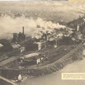 Aerial view of the DOSCO mill at Sydney