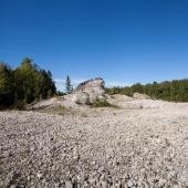 Slag Pile, Eureka, NS, 2013
